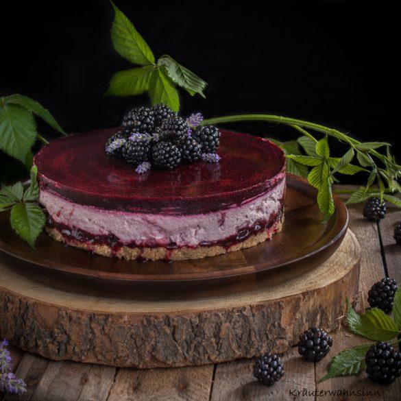 glutenfreie Brombeer-Torte