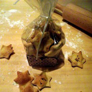 Cracker aus Dinkelmehl