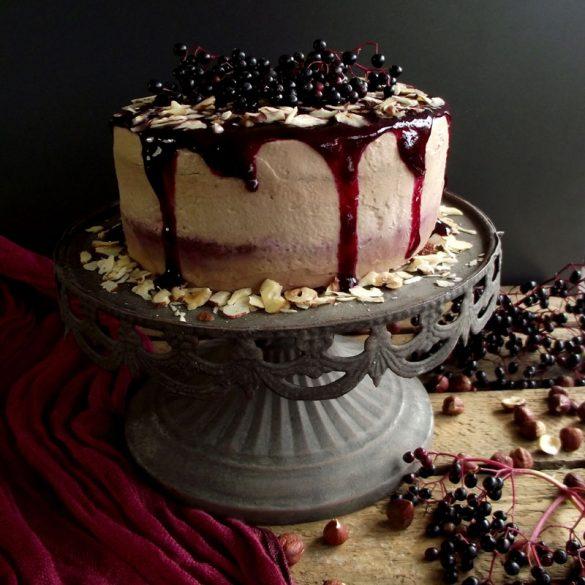 Holunderbeeren-Torte