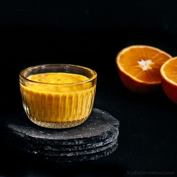 Orangen-Creme