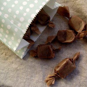fruchtige Karamellbonbons